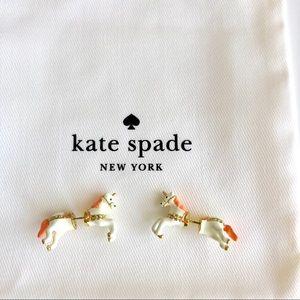 Kate Spade Enameled Unicorn Earring